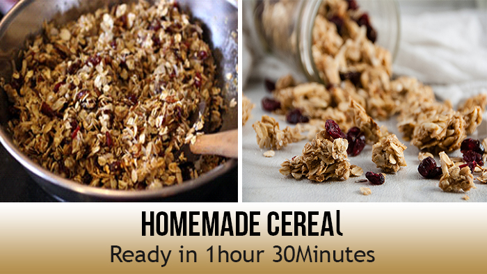 Homemade Cereal