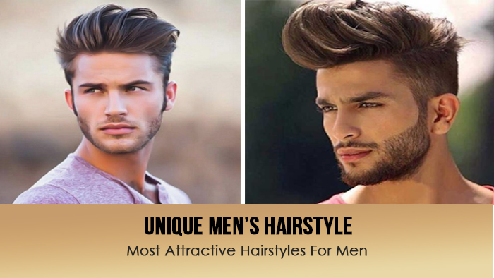 Unique men's hairs style