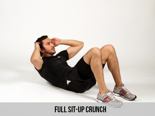 Full Sit-up Crunch