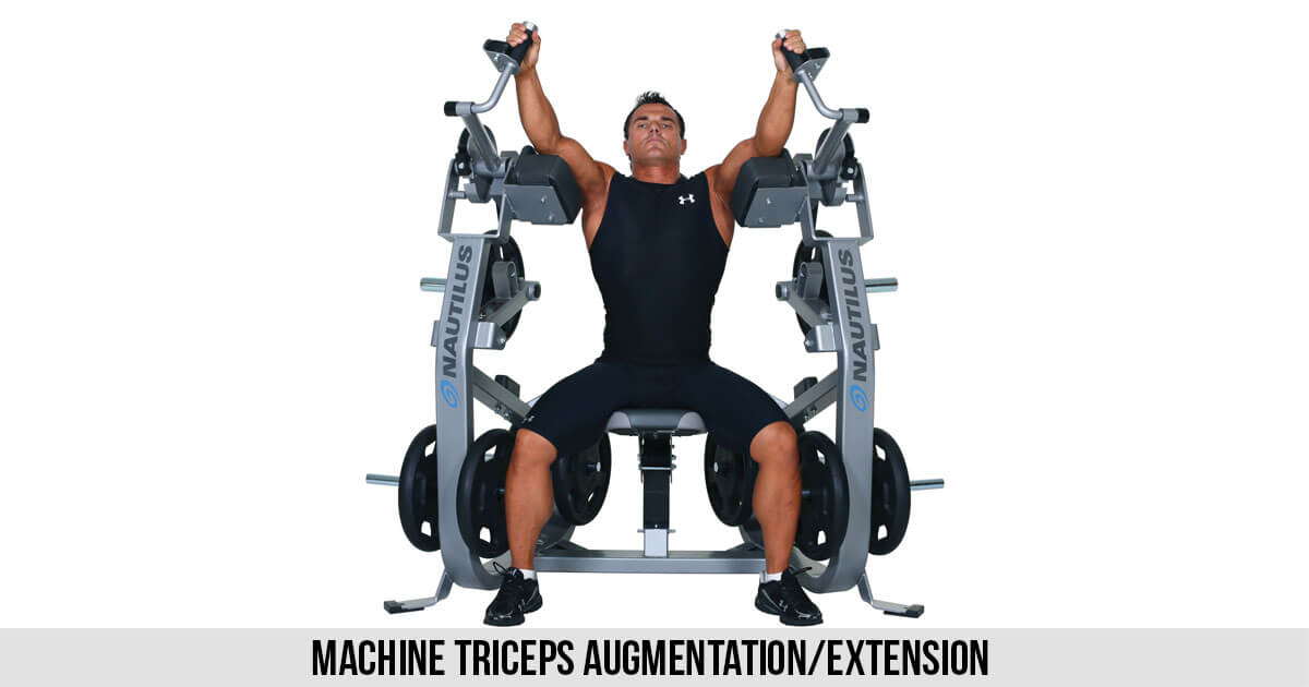 Machine Triceps Augmentation Extension