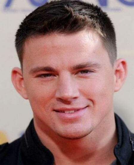 Channing Tatum Crew Cut Hairstyle