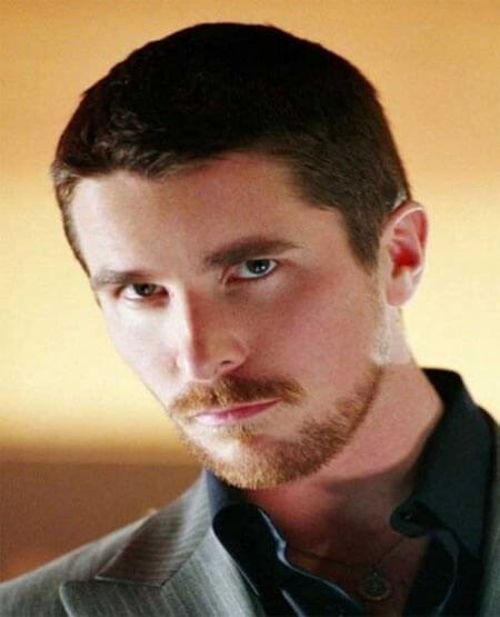 Christian Bale Crew Cut Hairstyle
