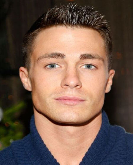 Colton Haynes Crew Cut Hairstyle