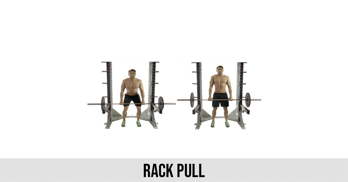 Rack Pull Exercise