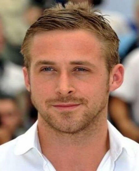 Ryan Gosling Crew Cut Hairstyle