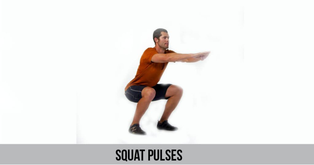 Bodyweight Squat Pulses