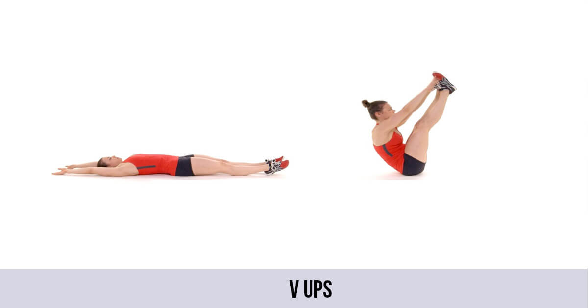 V Ups | Exercise | Variations