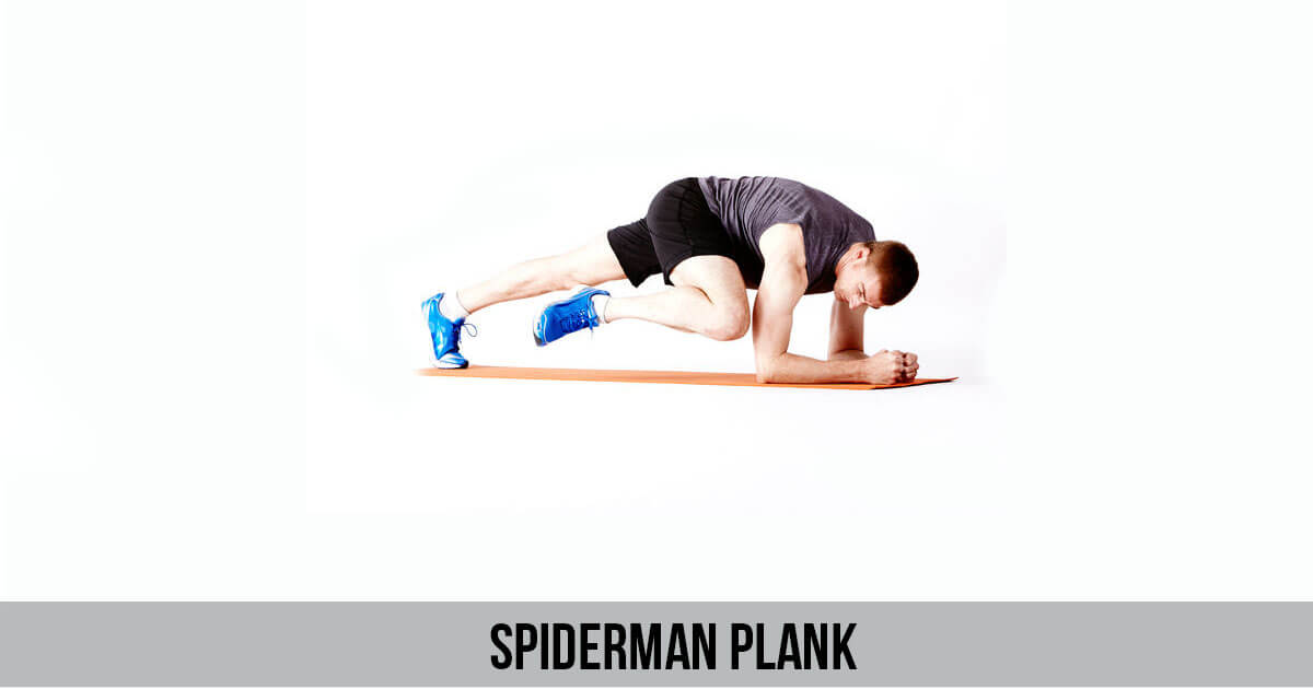 spiderman plank