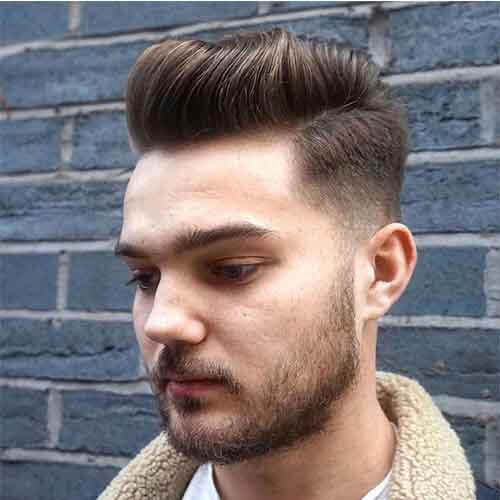 Cool Waved Pompadour