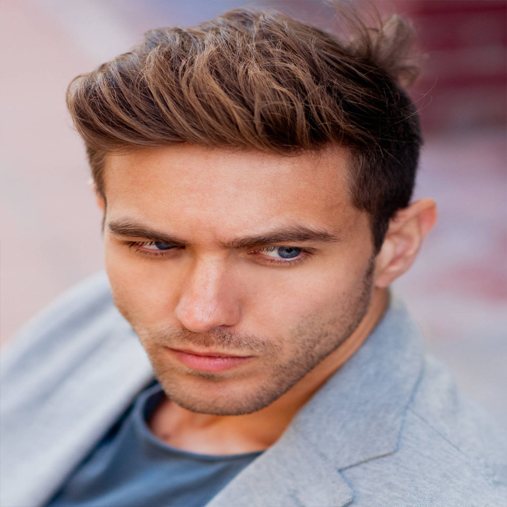 Brushed Up men hairstyle