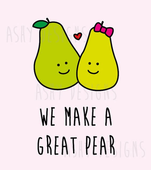 We make a great pear.