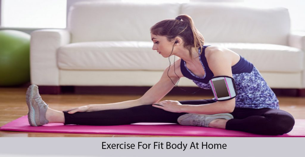 best exercise for fit body at home