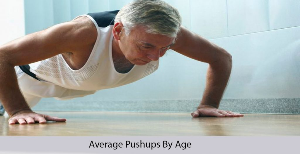 Average pushups by age