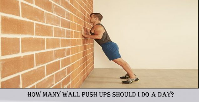 how many wall push ups should i do a day