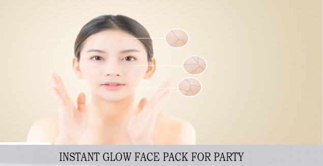 Best INSTANT GLOW FACE PACK FOR PARTY
