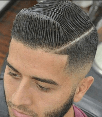 Comb Over + Line-Up