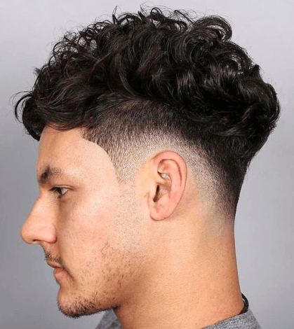 curly fade drop