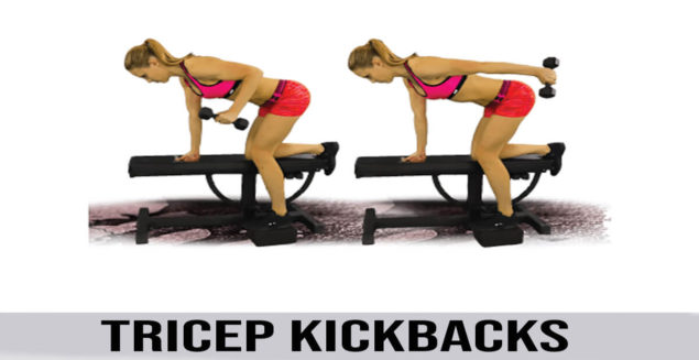 how to do Tricep Kickbacks