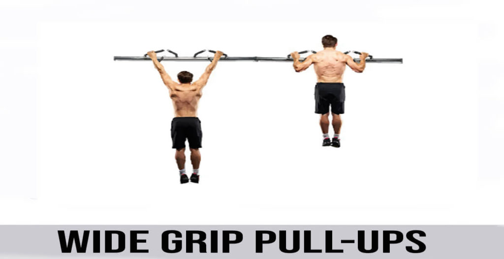 how to do Wide Grip Pull-ups