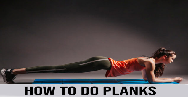 how to do planks step by step