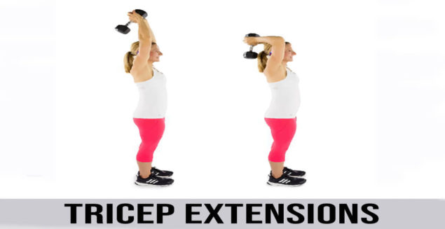how to do tricep extensions