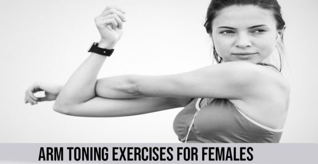 best Arm toning exercises for females