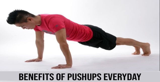 Benefits of pushups everyday