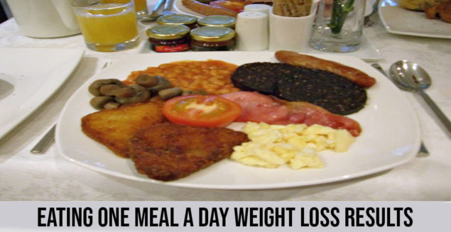 Eating One Meal a Day Weight Loss Results