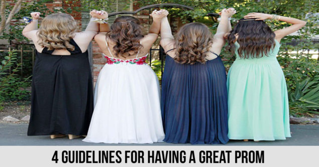 4 Guidelines for Having a Great Prom