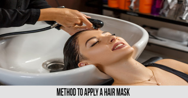 method to Apply A Hair Mask