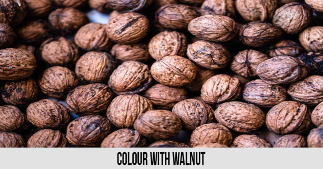 Colour with walnut