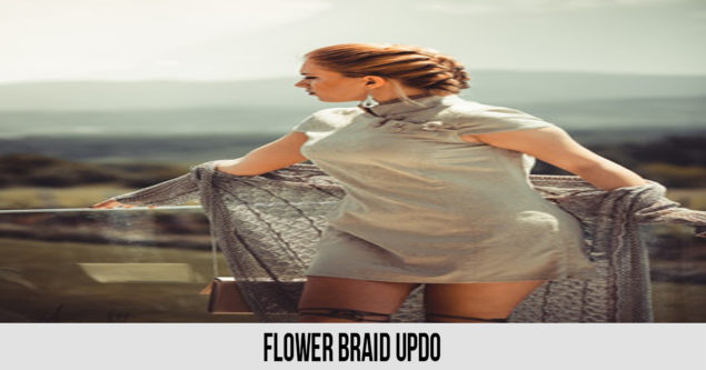 Flor Braid Updo