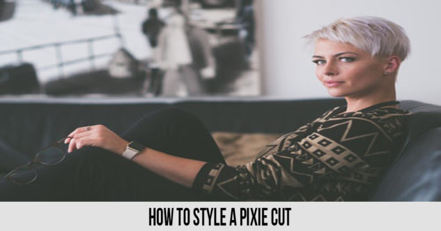 Com l'estil d'un Pixie Cut