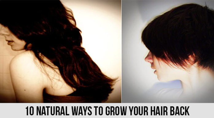 Ways to Grow Your Hair Back